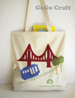 Golden Gate tote